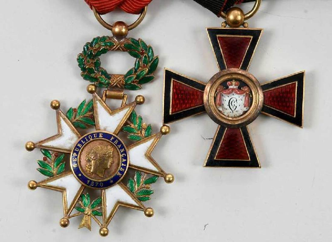 St. Vladimir and French Legion of Honor Medals - 2