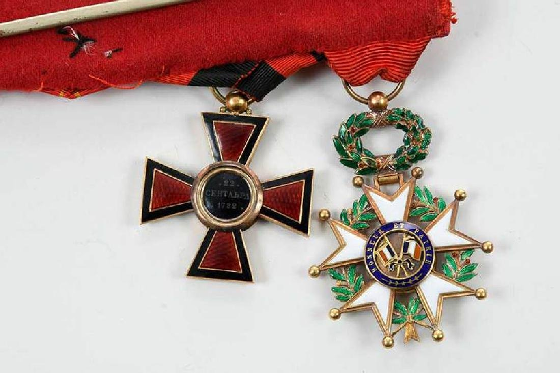 St. Vladimir and French Legion of Honor Medals - 4