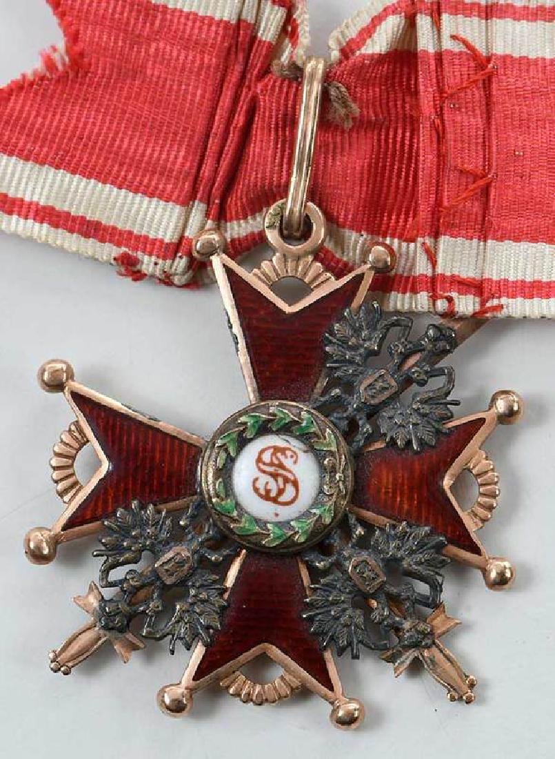 Two Russian Imperial Order St. Stanislaus Medals - 2