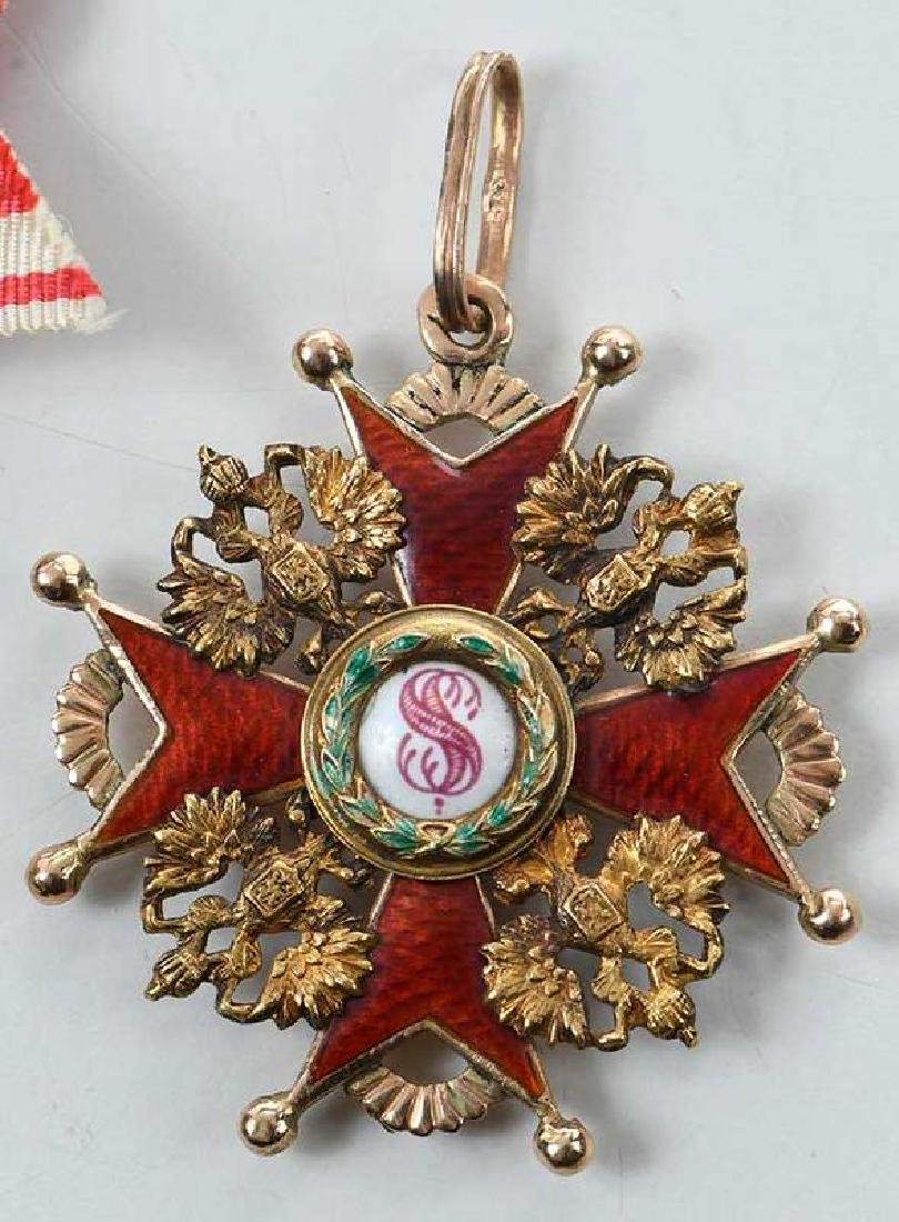 Two Russian Imperial Order St. Stanislaus Medals - 3