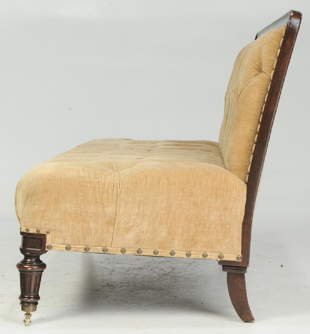 A Ralph Lauren Tufted Velvet Upholstered Sofa - 3