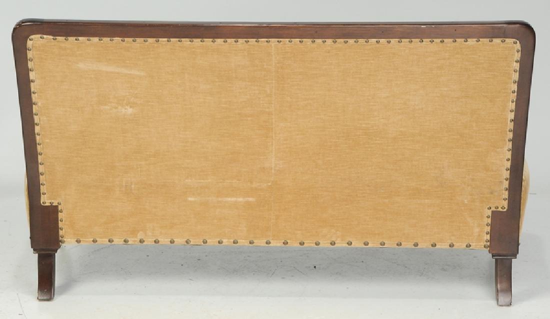 A Ralph Lauren Tufted Velvet Upholstered Sofa - 4