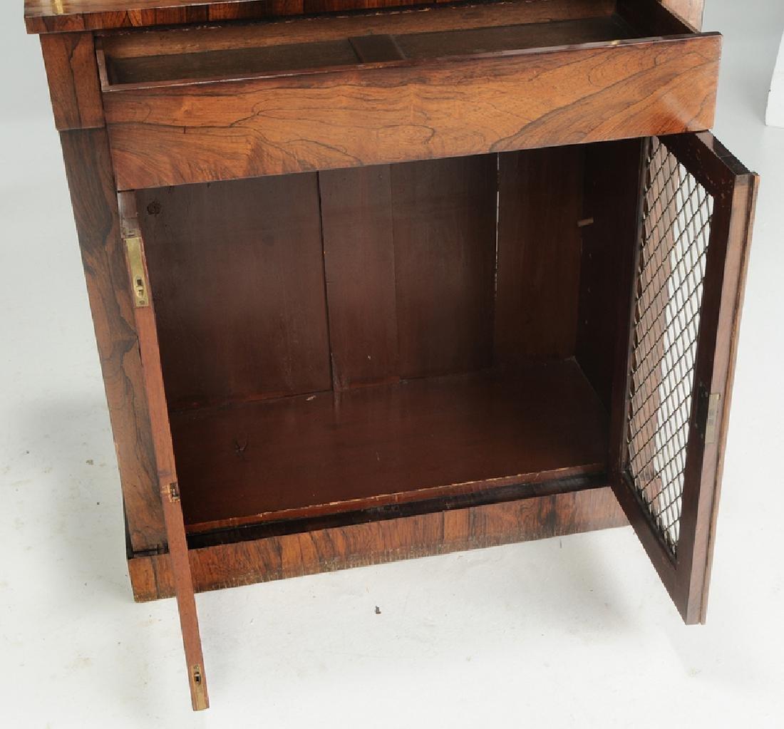 Regency Rosewood Grille Door Cabinet - 3