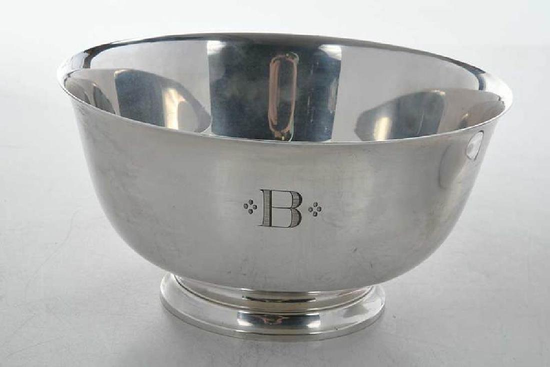 Two Tiffany Sterling Silver Bowls - 3
