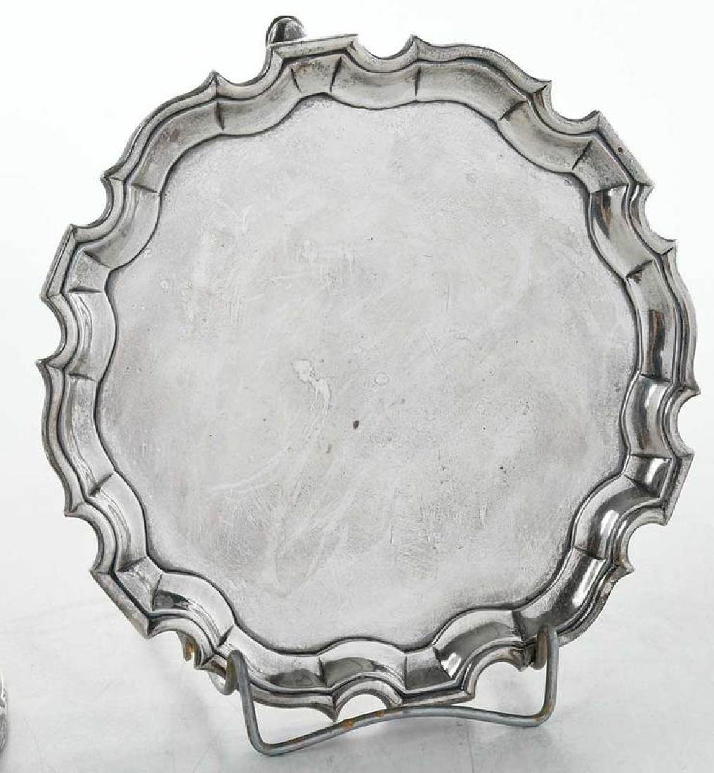 Four Silver Table Items - 6