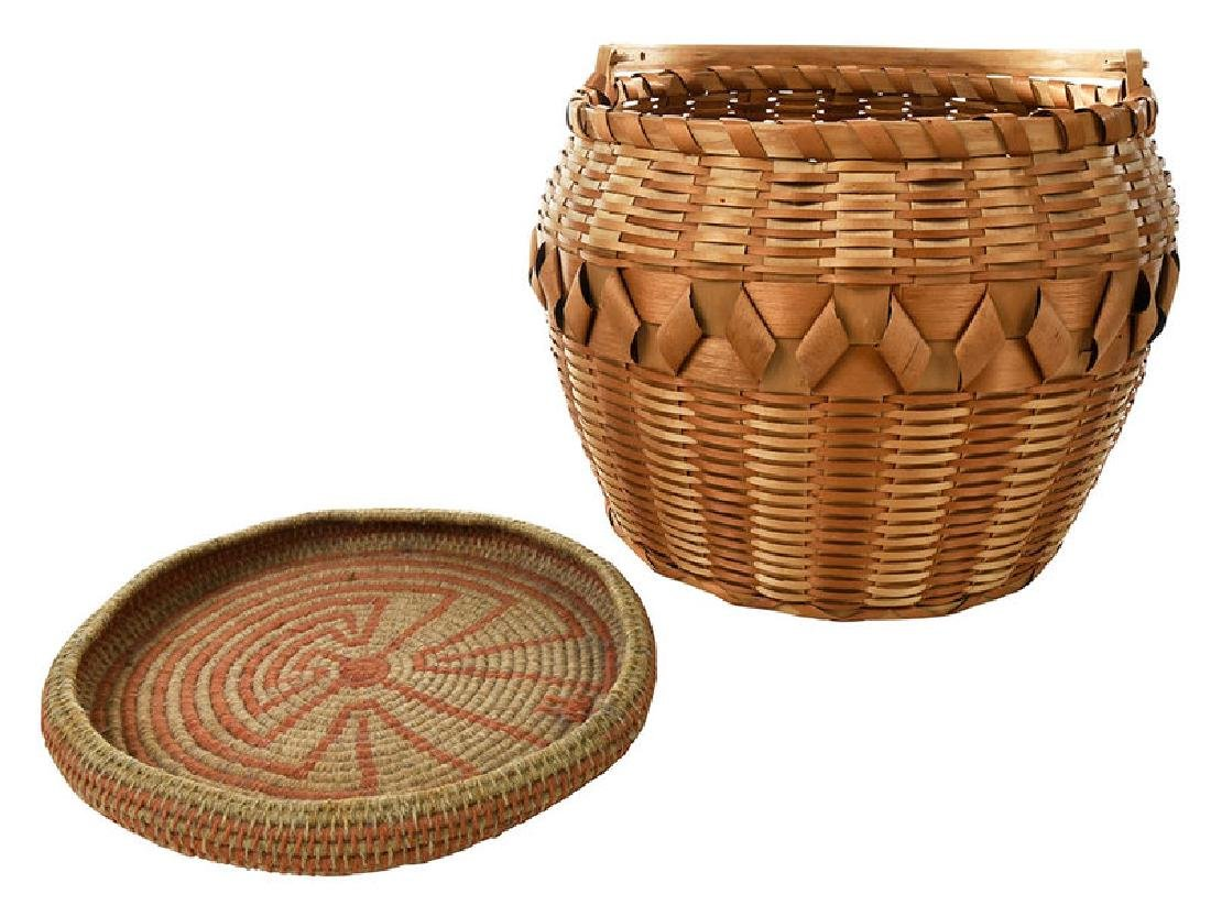 Two Native American Baskets