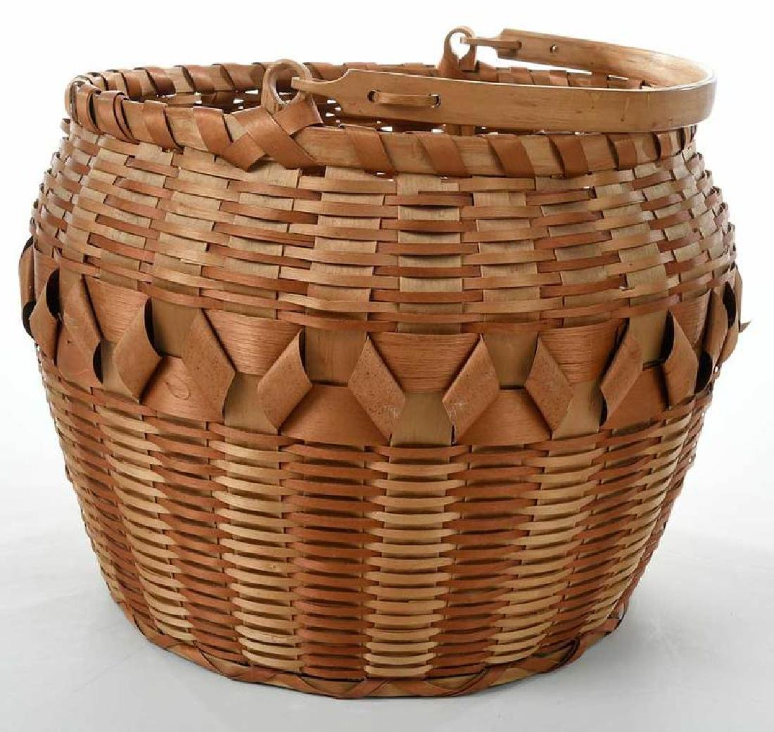 Two Native American Baskets - 8