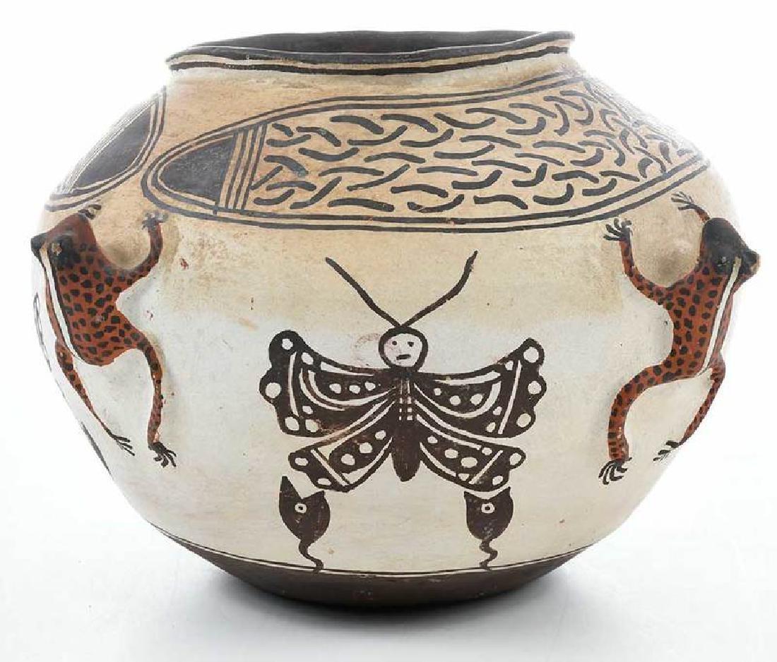 Zuni Pueblo Frog Effigy Bowl - 3