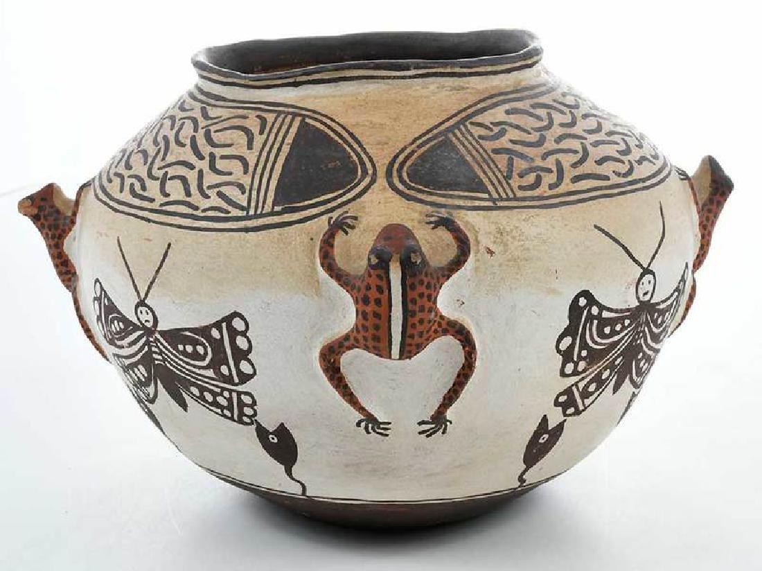 Zuni Pueblo Frog Effigy Bowl - 4