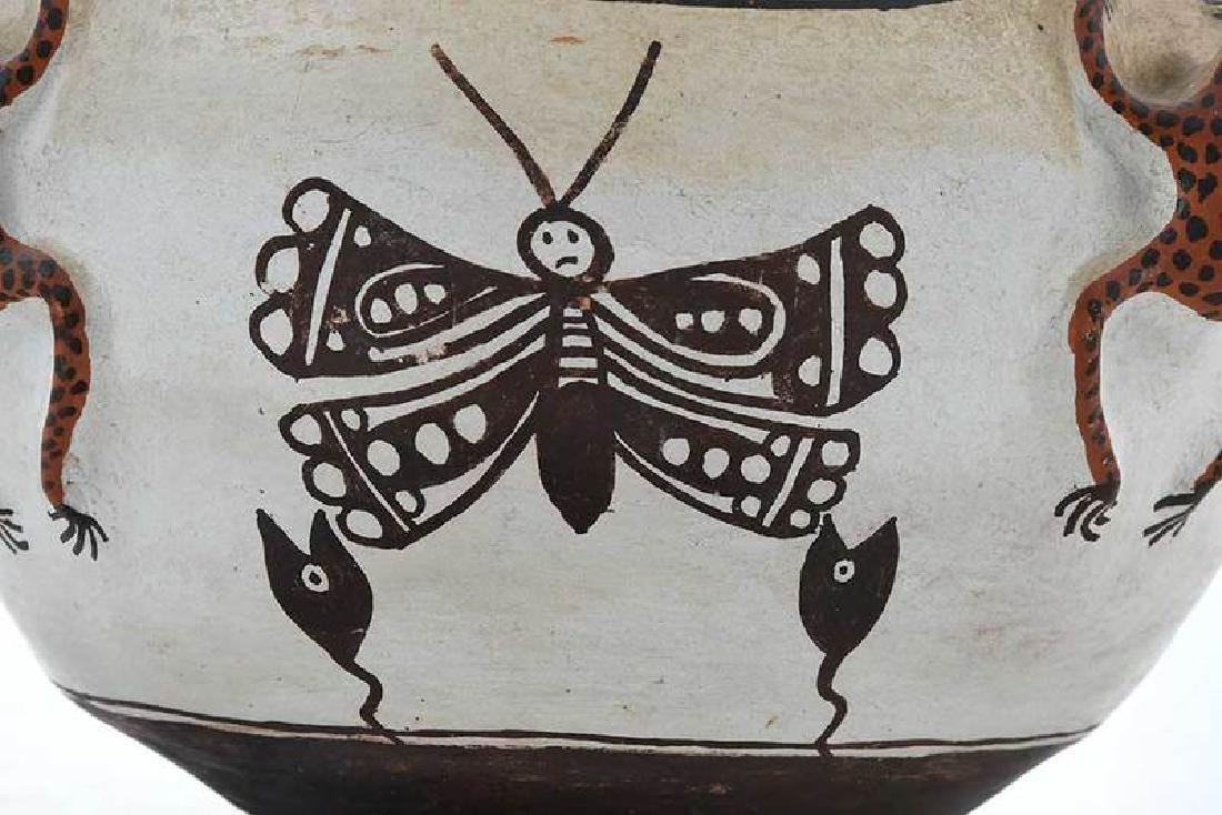 Zuni Pueblo Frog Effigy Bowl - 6