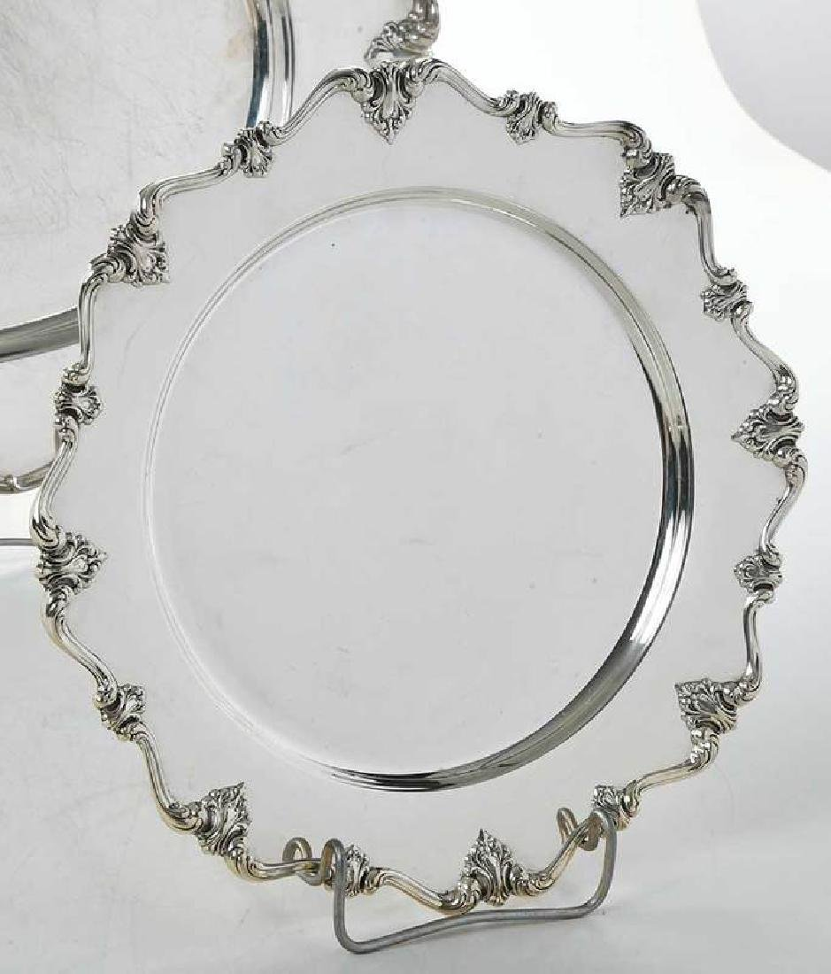 Four Sterling Trays - 10