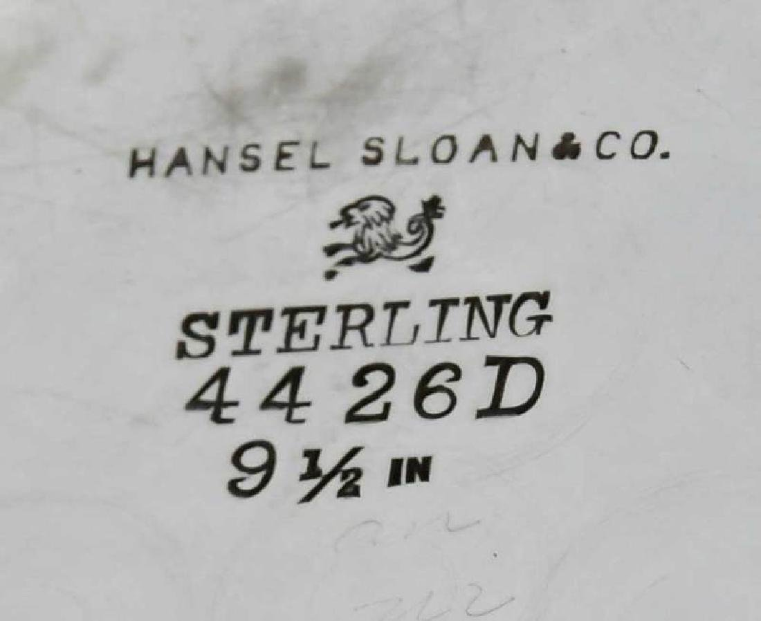 Four Sterling Trays - 9