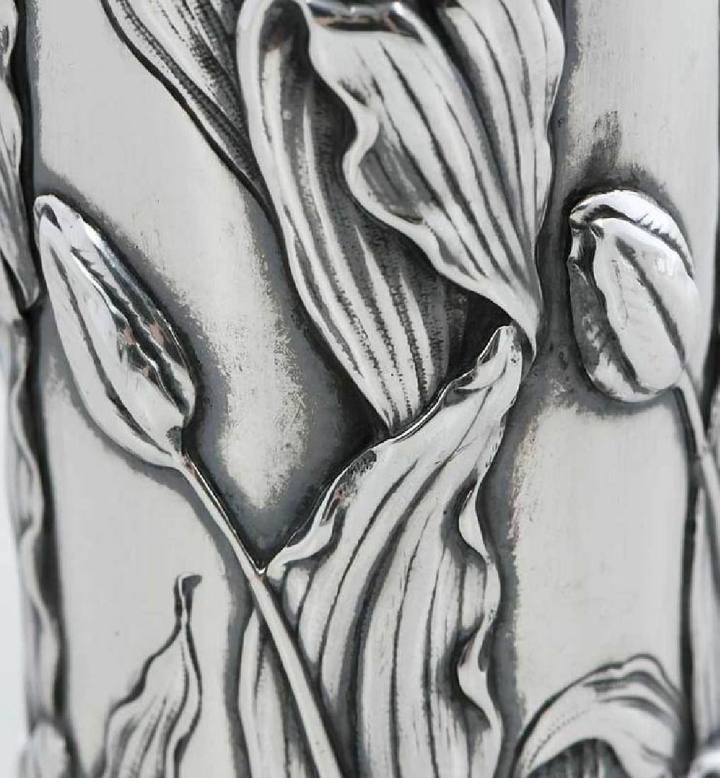 Shiebler Sterling Floral Vase - 10
