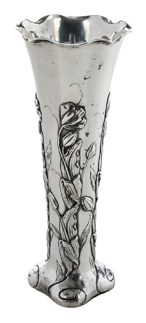 Shiebler Sterling Floral Vase