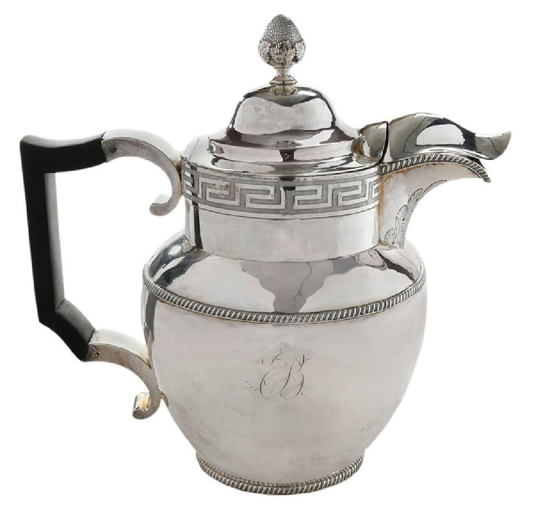 Coin Silver Water or Milk Pitcher