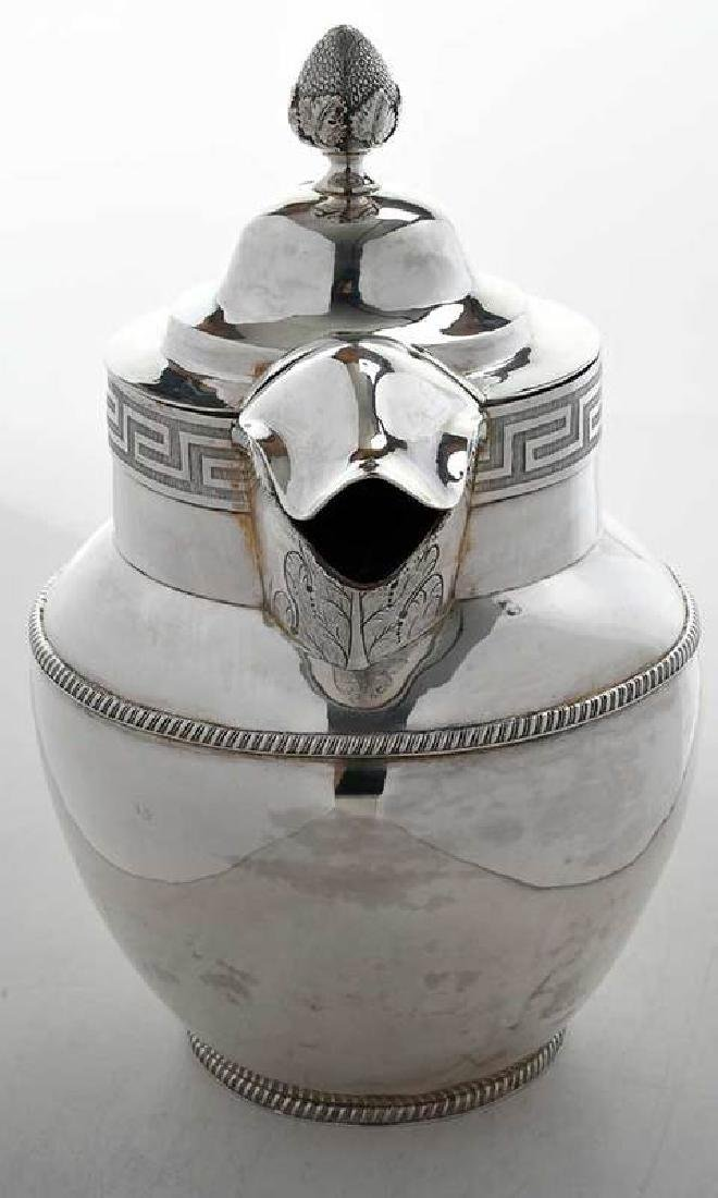Coin Silver Water or Milk Pitcher - 2