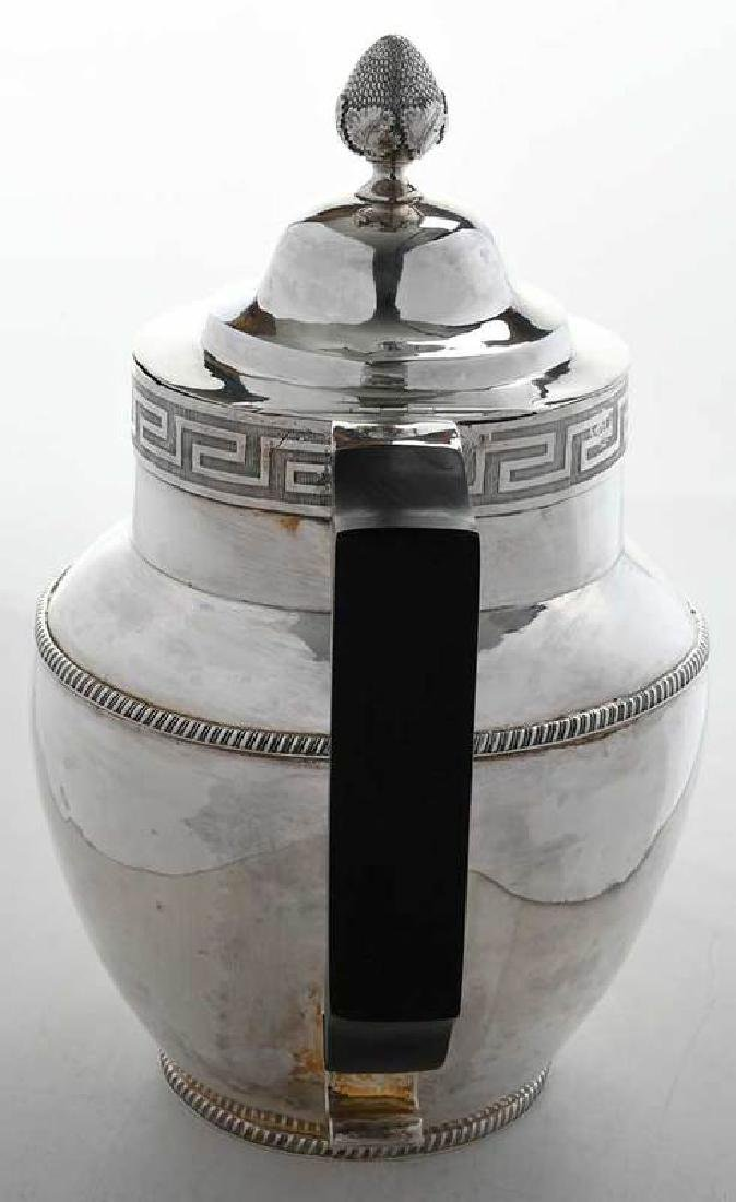 Coin Silver Water or Milk Pitcher - 4