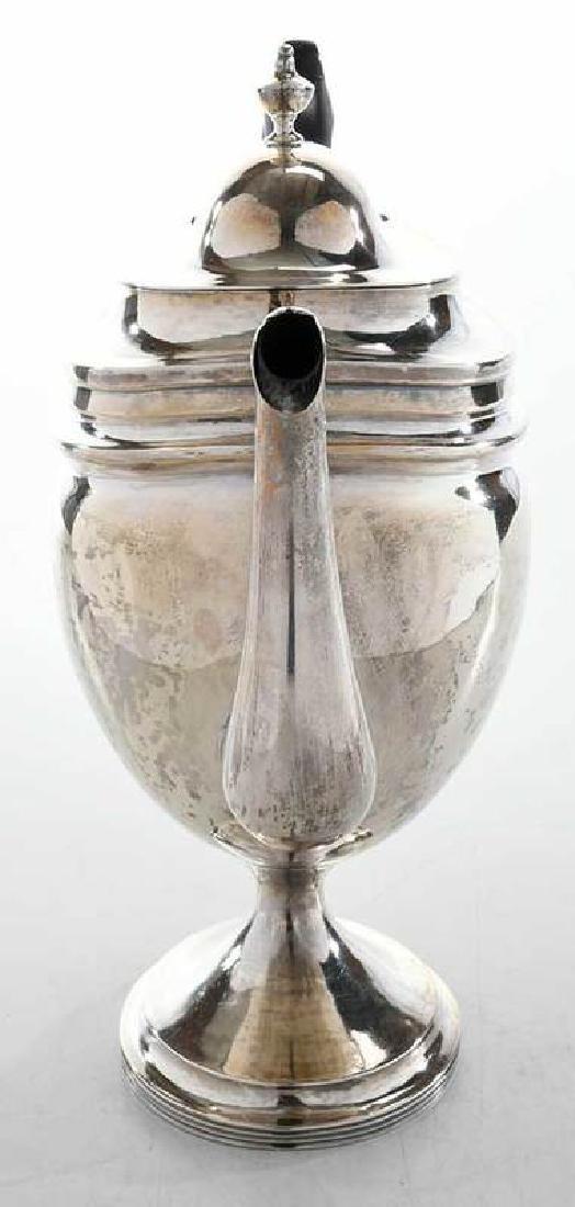 Coin Silver Teapot - 2