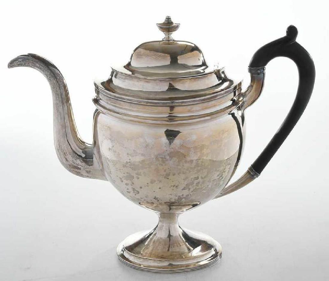 Coin Silver Teapot - 3