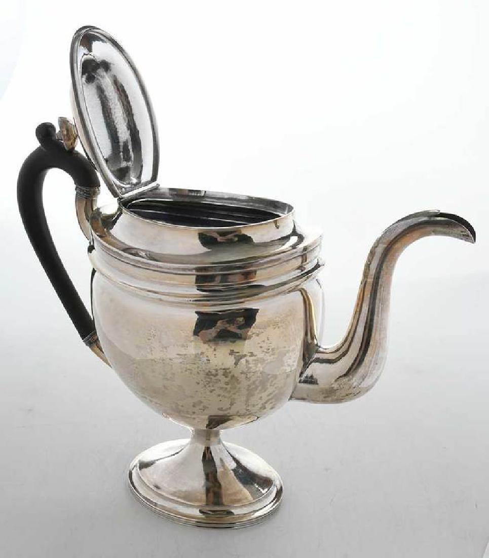 Coin Silver Teapot - 6