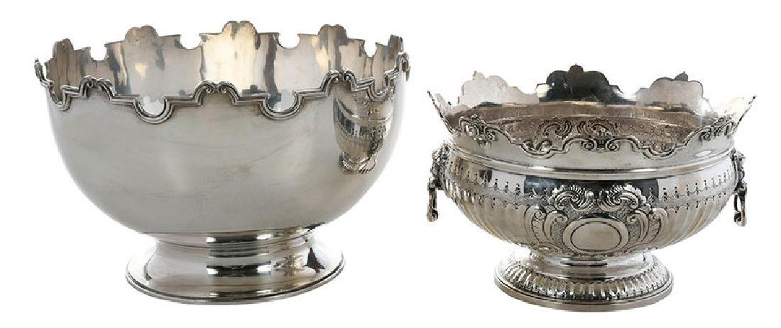 Two English Silver Bowls