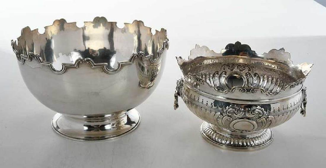 Two English Silver Bowls - 2