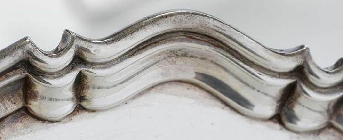Five English Silver Trays - 10