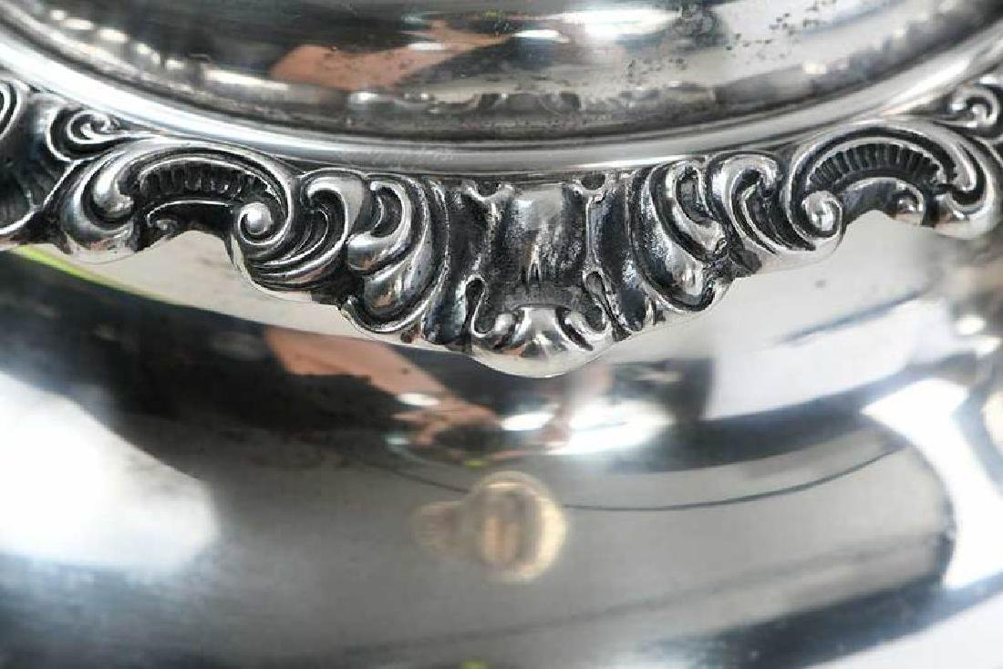 Gorham Sterling Coffee Service, Silver-Plate Tray - 8