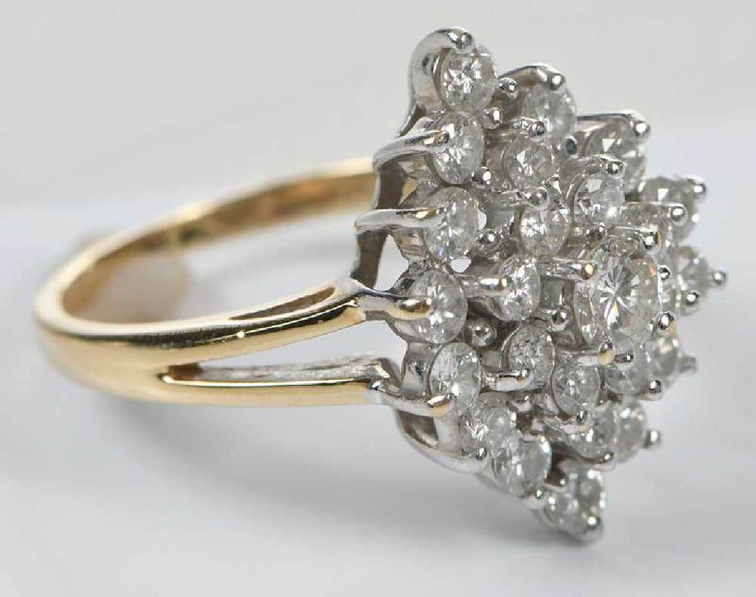 14kt. Diamond Ring - 3