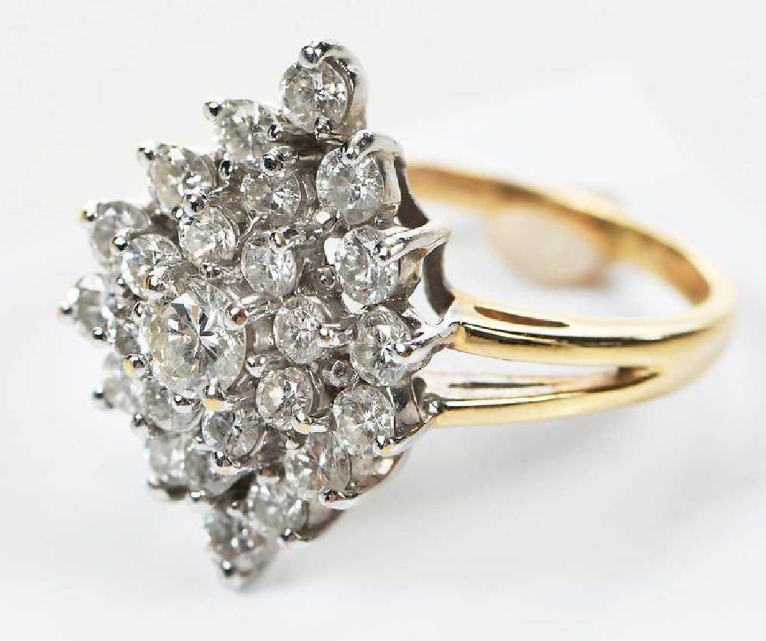14kt. Diamond Ring - 7
