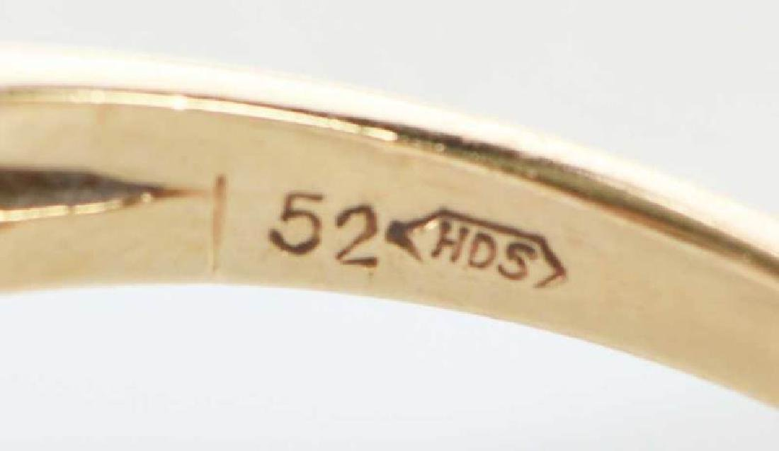 14kt. Diamond Ring - 8