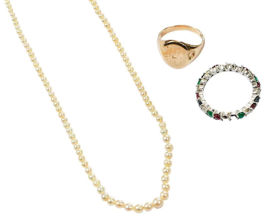 Three Pieces Jewelry