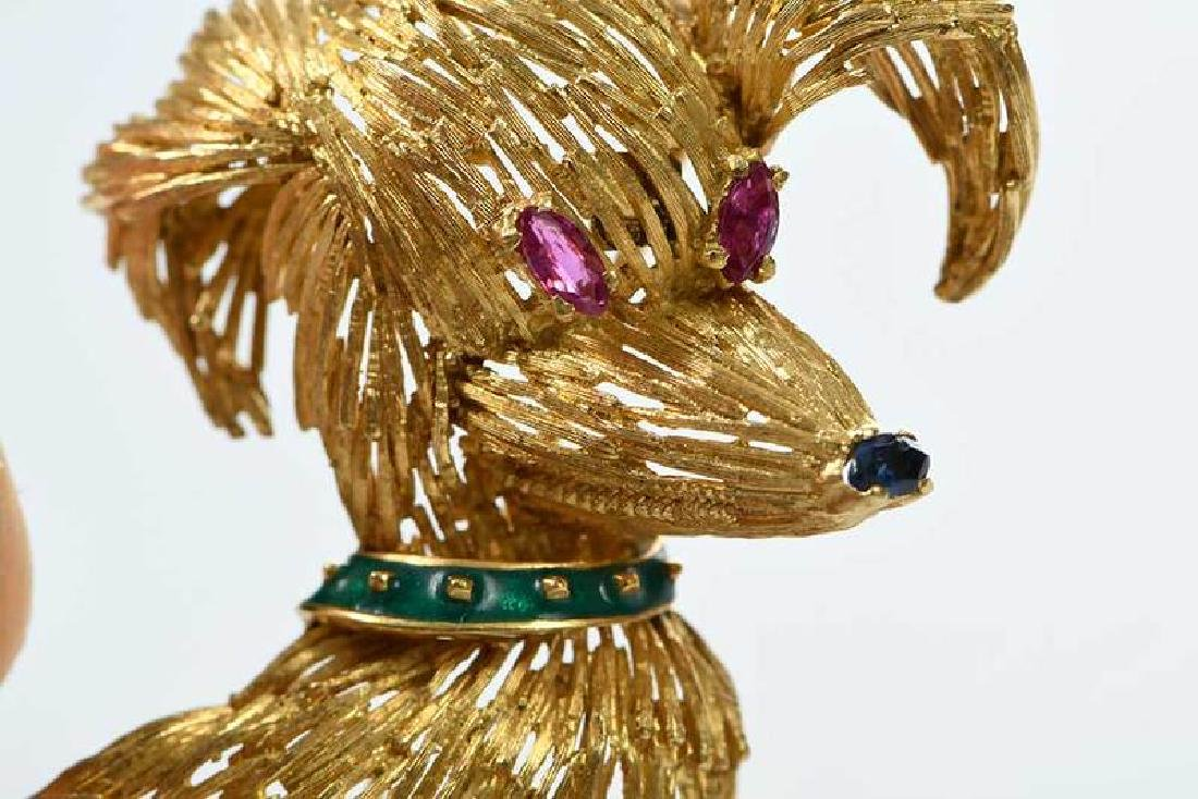 Two 18kt. Animal Brooches - 6