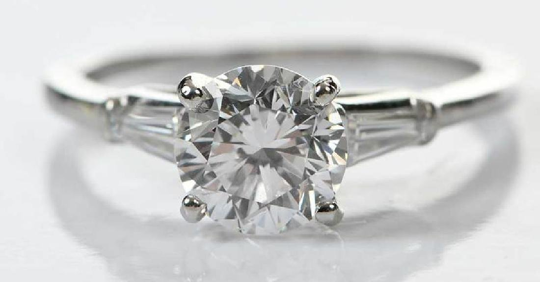 Platinum Diamond Ring - 2