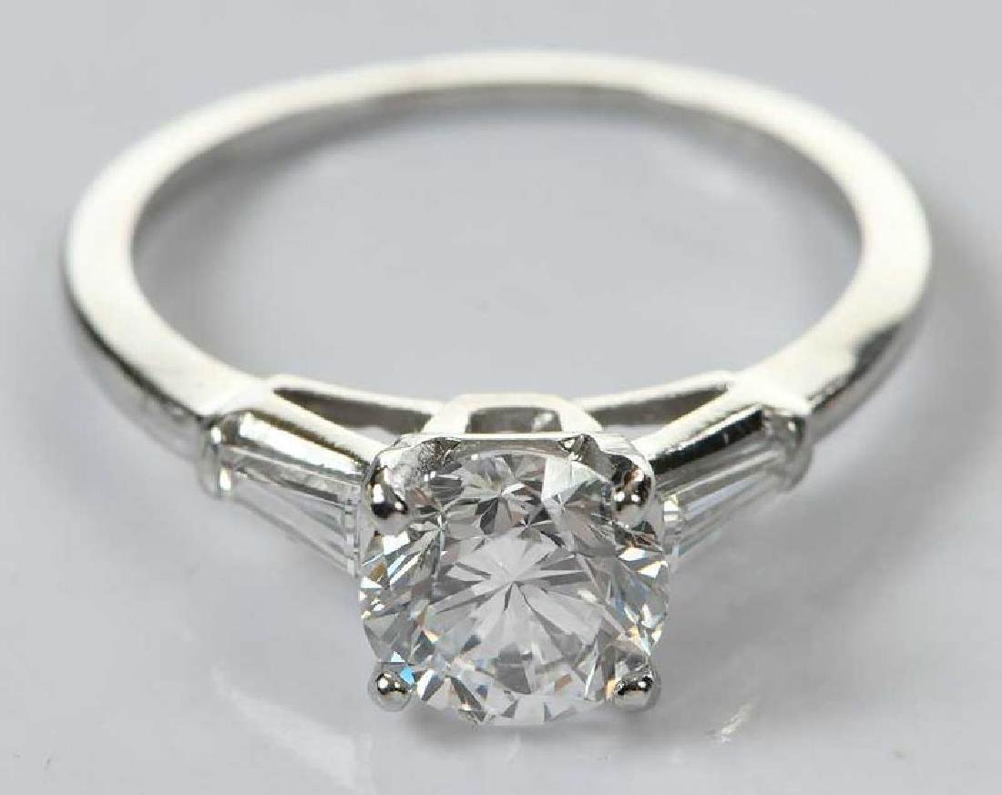 Platinum Diamond Ring - 3