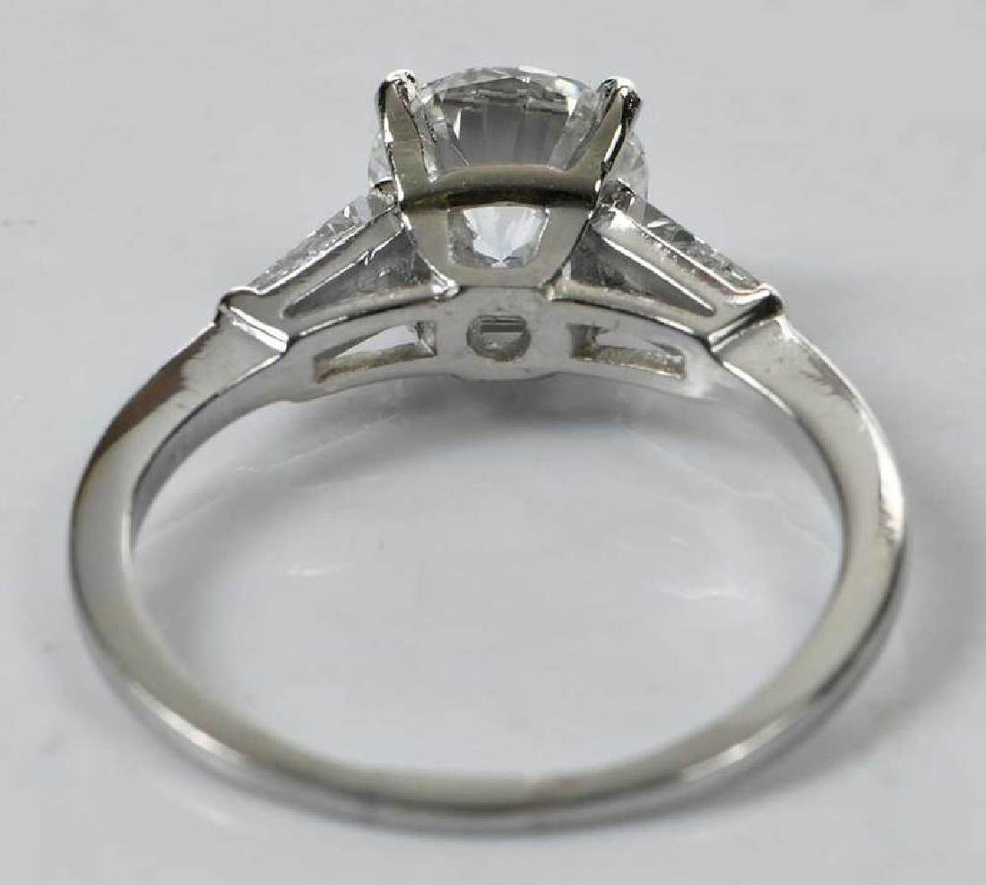 Platinum Diamond Ring - 6