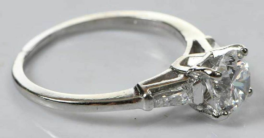 Platinum Diamond Ring - 7
