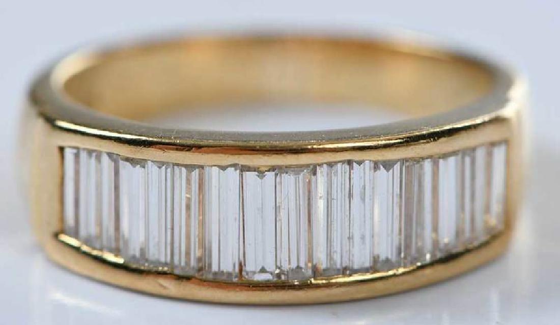 18kt. Diamond Ring - 9