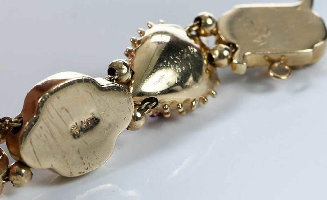 14kt. Slide Bracelet - 10