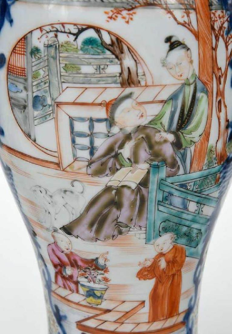 Two Pairs Chinese Export Vases - 3