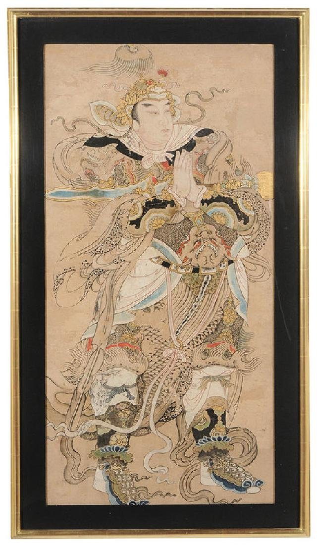 Ming Dynasty Painting of Emperor or Deity