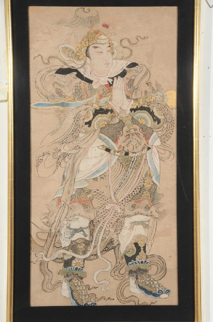 Ming Dynasty Painting of Emperor or Deity - 2