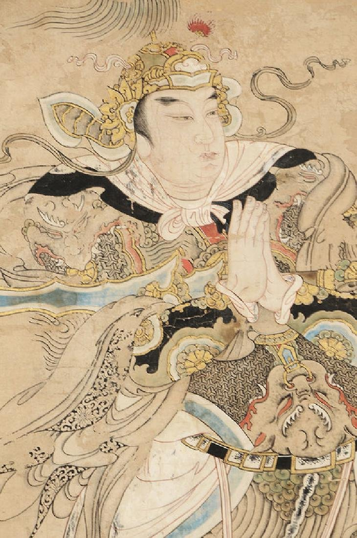 Ming Dynasty Painting of Emperor or Deity - 3