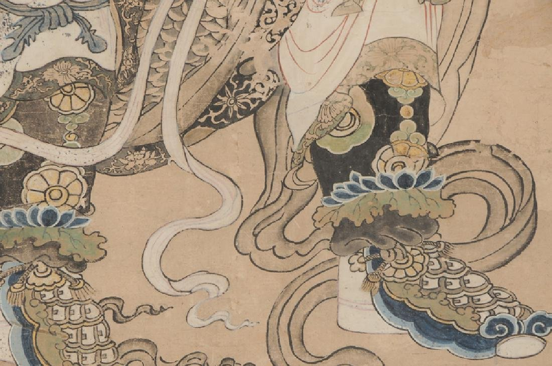 Ming Dynasty Painting of Emperor or Deity - 4