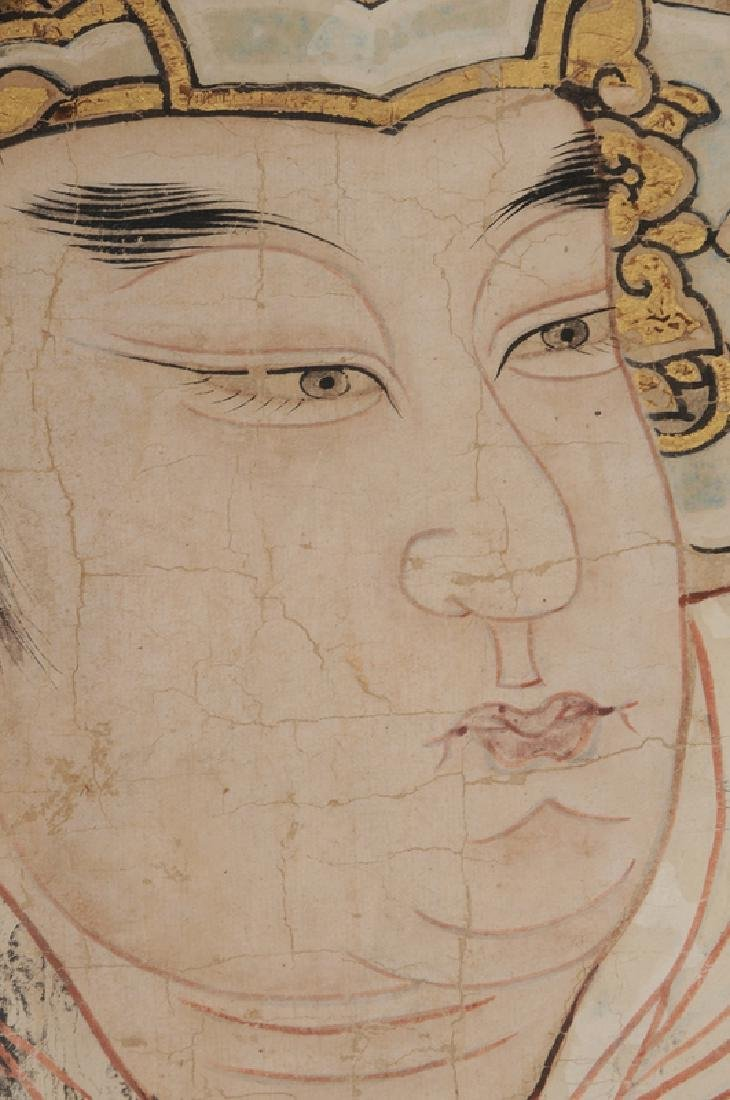 Ming Dynasty Painting of Emperor or Deity - 6