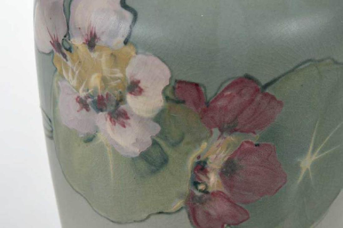Two Weller Pottery Decorated Vases - 10