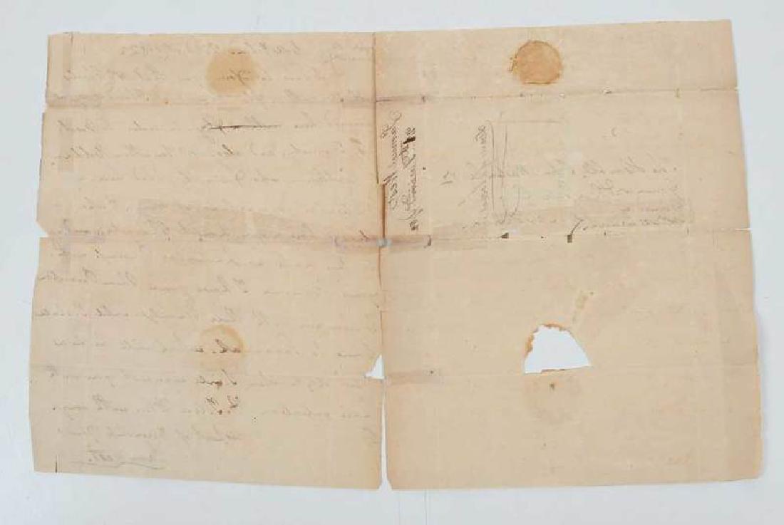 Revolutionary War Era Letter, 1782 - 2