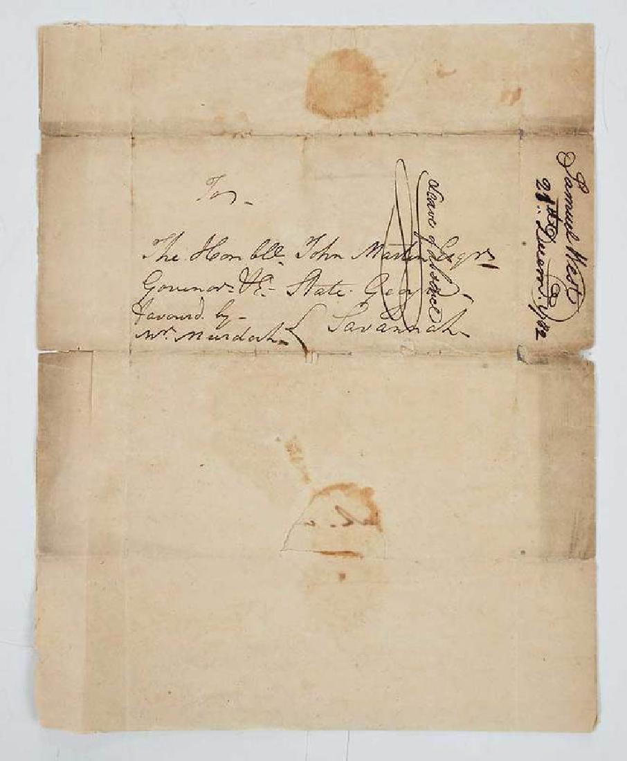 Revolutionary War Era Letter, 1782 - 3