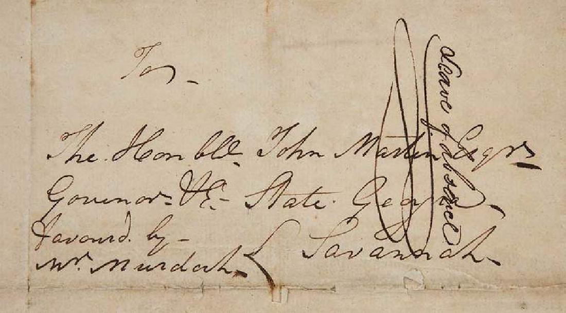 Revolutionary War Era Letter, 1782 - 4