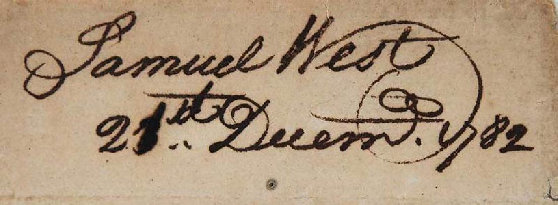 Revolutionary War Era Letter, 1782 - 5
